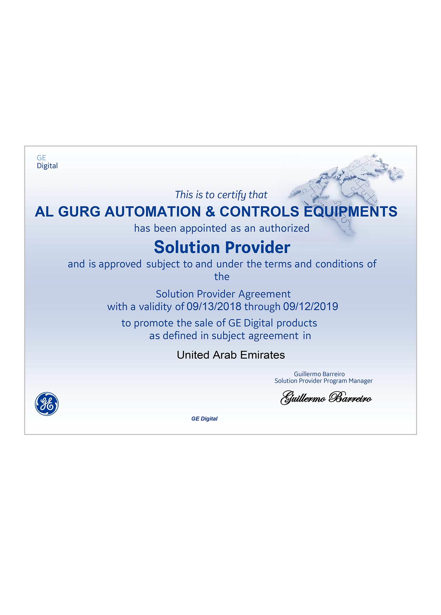 Solution-Provider-Certificate-2019--AL-GURG-AUTOMATION--CONTROLS-EQUIPM.jpg